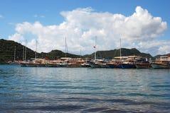 Θάλασσα Uchagiz, Lycia στοκ εικόνες με δικαίωμα ελεύθερης χρήσης