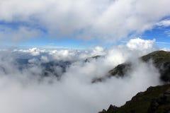 θάλασσες σύννεφων Στοκ Εικόνες