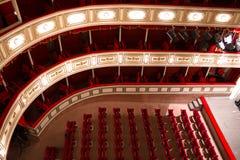 Θέατρο αιθουσών Στοκ φωτογραφία με δικαίωμα ελεύθερης χρήσης