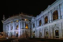 Θέατρο Βιέννη δικαστηρίου Στοκ φωτογραφία με δικαίωμα ελεύθερης χρήσης