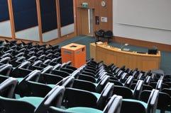 θέατρο διάλεξης Στοκ Φωτογραφία