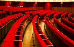 θέατρο εδρών Στοκ φωτογραφία με δικαίωμα ελεύθερης χρήσης