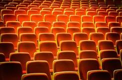 θέατρο εδρών Στοκ εικόνα με δικαίωμα ελεύθερης χρήσης
