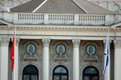 θέατρο Ζυρίχη Στοκ Φωτογραφίες