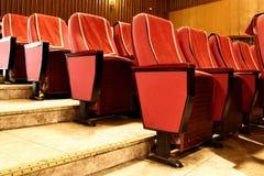 θέατρο καθισμάτων Στοκ εικόνα με δικαίωμα ελεύθερης χρήσης