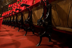 θέατρο καθισμάτων Στοκ Φωτογραφία