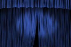 θέατρο κουρτινών Στοκ εικόνα με δικαίωμα ελεύθερης χρήσης