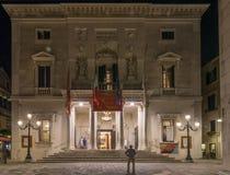 Θέατρο Λα Fenice, Βενετία, Ιταλία στοκ εικόνες με δικαίωμα ελεύθερης χρήσης