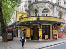 Θέατρο Λονδίνο Aldwych Στοκ εικόνα με δικαίωμα ελεύθερης χρήσης
