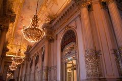 Θέατρο Μπουένος Άιρες άνω και κάτω τελειών Στοκ φωτογραφία με δικαίωμα ελεύθερης χρήσης