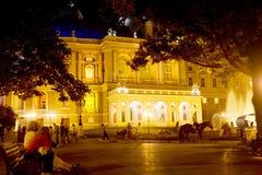θέατρο οπερών της Οδησσό&sigmaf Στοκ Εικόνα