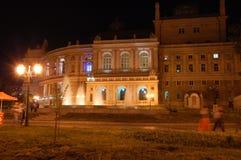 Θέατρο οπερών της Οδησσός Στοκ φωτογραφία με δικαίωμα ελεύθερης χρήσης