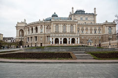 θέατρο οπερών της Οδησσός στοκ φωτογραφίες