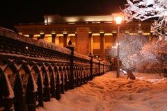 θέατρο οπερών του Novosibirsk Στοκ Εικόνες