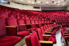 θέατρο πολυθρόνων στοκ εικόνες