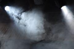 θέατρο προβολέων Στοκ Φωτογραφίες