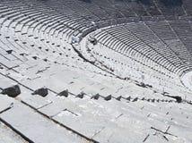 Θέατρο σε Epidauros Ελλάδα Στοκ Εικόνες