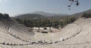 Θέατρο σε Epidauros Ελλάδα Στοκ εικόνα με δικαίωμα ελεύθερης χρήσης