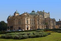 Θέατρο στην Κρακοβία Πολωνία Στοκ εικόνες με δικαίωμα ελεύθερης χρήσης
