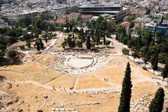 θέατρο της Ελλάδας dionysus της Στοκ Φωτογραφία