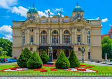 Θέατρο της Κρακοβίας Στοκ φωτογραφίες με δικαίωμα ελεύθερης χρήσης