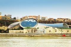 Θέατρο της μουσικής και του δράματος στο Tbilisi Στοκ Εικόνες