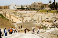 θέατρο της Ρώμης Στοκ Εικόνα