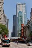 θέατρο του Σικάγου Στοκ φωτογραφία με δικαίωμα ελεύθερης χρήσης