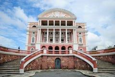 Θέατρο Amazonas στοκ εικόνες