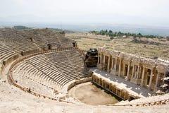 Θέατρο Antic σε Hierapolis Στοκ Εικόνες