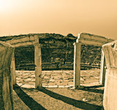 θέατρο aphrodisias Στοκ Φωτογραφίες