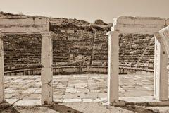 θέατρο aphrodisias Στοκ Εικόνες