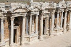 Θέατρο Hierapolis στην Τουρκία Στοκ φωτογραφία με δικαίωμα ελεύθερης χρήσης