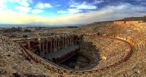 Θέατρο Hierapolis Pamukkale, Τουρκία Στοκ φωτογραφίες με δικαίωμα ελεύθερης χρήσης