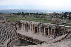Θέατρο Hierapolis, Pamukkale, Denizli Στοκ Εικόνα