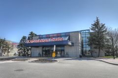 Θέατρο Markham Flato σε Markham, Καναδάς Στοκ Εικόνα
