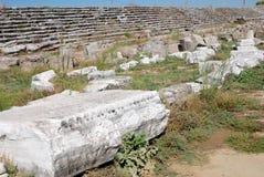 Θέατρο Perge στοκ εικόνα