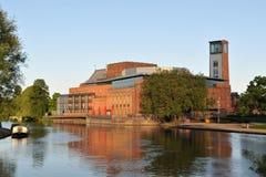 Θέατρο Shakepeare σε Stratford επάνω σε Avon Στοκ Φωτογραφίες