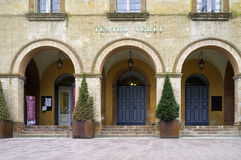 Θέατρο Verdi, Busseto Εικόνα χρώματος Στοκ Εικόνα