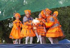Θέατρο Vyaznikovskiy του τρόπου μωρών στη σκηνή στην ημέρα του CI Στοκ φωτογραφία με δικαίωμα ελεύθερης χρήσης