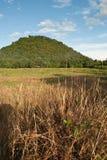 Θέα βουνού από Lamphun, Ταϊλάνδη Στοκ φωτογραφίες με δικαίωμα ελεύθερης χρήσης