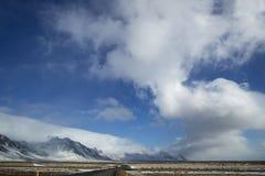 Θέα βουνού, Ισλανδία Στοκ Εικόνες