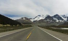 Θέα βουνού παγετώνων των ΗΠΑ Στοκ Φωτογραφία