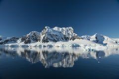 Θέα βουνού στην Ανταρκτική Στοκ εικόνες με δικαίωμα ελεύθερης χρήσης