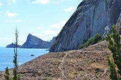 Θέα βουνού στην Κριμαία Στοκ Εικόνες