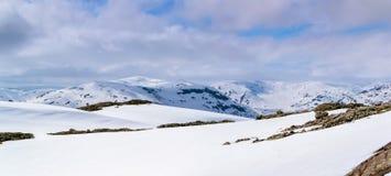 Θέα βουνού της Νορβηγίας στοκ φωτογραφία