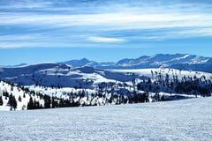 Θέα βουνού του Κολοράντο Στοκ Φωτογραφίες