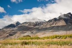 Θέα βουνού του leh ladakh Ινδία Στοκ Εικόνα