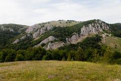 Θέα βουνού το καλοκαίρι Στοκ φωτογραφίες με δικαίωμα ελεύθερης χρήσης