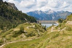 Θέα βουνού 2 Στοκ Εικόνες